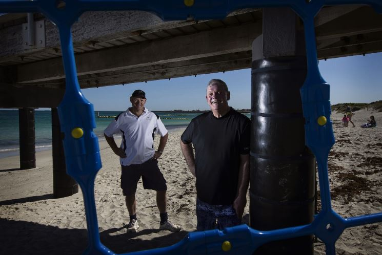 COCKBURN GAZETTE: Coogee Beach: hopes for Eco Shark Barrier to stay on after trial ends